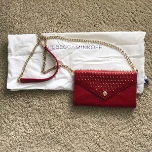 Rebecca Minkoff Red Chain Wallet
